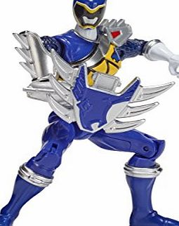 Power Rangers Dino Steel Blue Ranger Power Rangers Dino Super Charge Action Figure