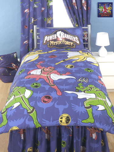 Power Rangers Bedroom: Duvet Covers Power Rangers Duvet Cover