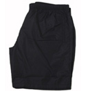 Mens Prada Black Drawstring Waist Swimming Shorts