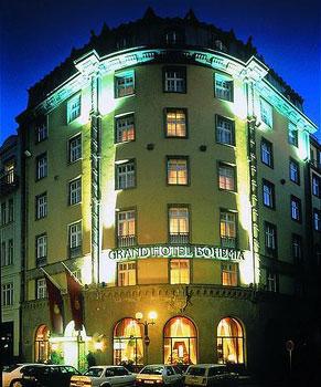 Prague compare hotel prices for Grand hotel bohemia hotel prague