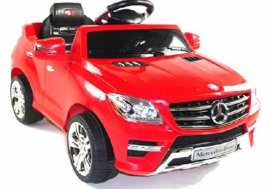 Predatour licensed mercedes ml350 6v electric ride on kids for Mercedes benz ml350 tires compare prices reviews