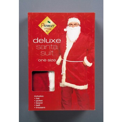 Premier Decorations Deluxe Santa Suit