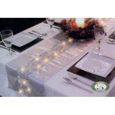 Christmas Table Runner Uk.Table Runner New 187 Led Christmas Table Runner