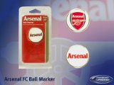 OFFICIAL ARSENAL F.C. CREST GOLF BALL MARKER