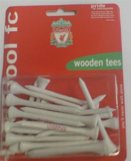 LIVERPOOL FC WOODEN TEES 70MM
