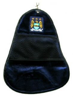 MANCHESTER CITY FC CLEANSWING GOLF TOWEL