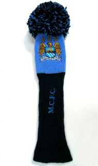 MANCHESTER CITY FC POM DRIVER HEADCOVER