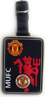 MANCHESTER UNITED FC BAG TAG