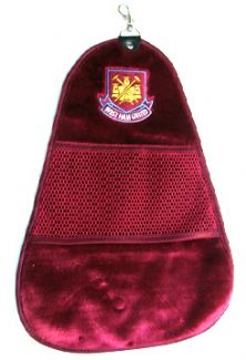 WEST HAM FC CLEANSWING GOLF TOWEL