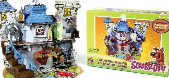 scooby doo haunted house 3d board game instructions