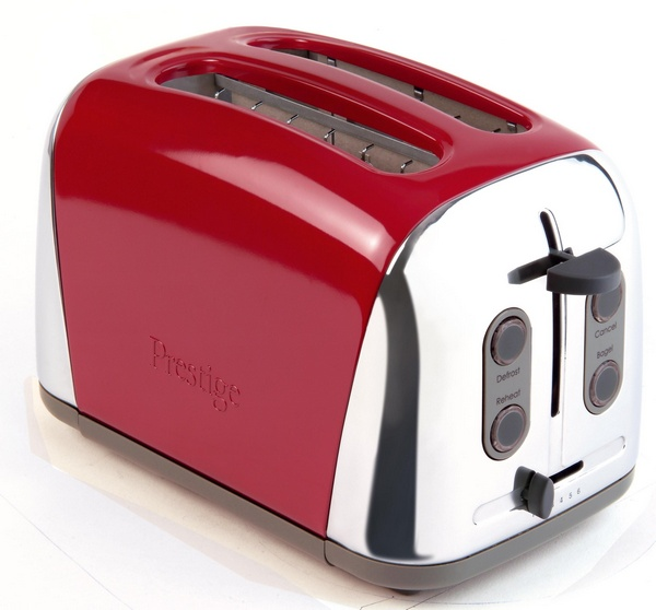 Prestige Deco Two Slice Toaster in Red Toaster - review ...