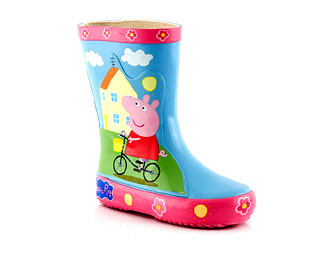 Adorable Peppa Pig Wellington Boot - Nursery