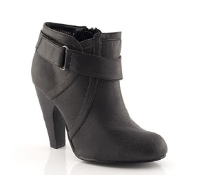 Priceless Ankle Boot With Banana Heel
