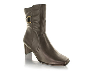 Priceless Fabulous Ankle Boot With Stretch Back Feature