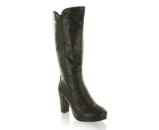 Priceless Fabulous Knee High Boot With Platform Heel