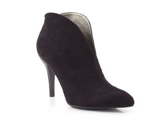 Priceless Fabulous Suede Effect Ankle Boot