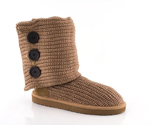 Priceless Knitted Mid High Boot