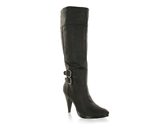 Priceless Mid High Boot With Platform Heel