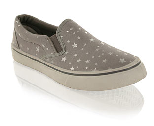 Pretty Canvas Shoe with Stars