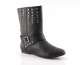 Priceless Stud Detail Ankle Boot
