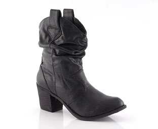Priceless Trendy Cowboy Ankle Boot