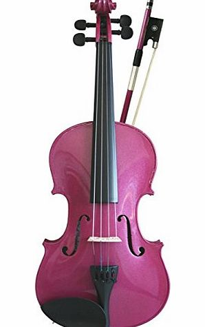 Violin Set 1/2, Rainbow Fantasia Pink