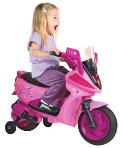 PRINCESS Ride-On Motor Scooter - Pink