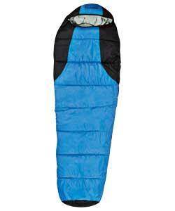 Pro Action 400gsm Mummy Sleeping Bag