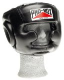 Pro-Box Black Full Face Headguard Large