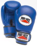 Blue Sparring Gloves Junior 4oz