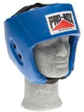 Blue Sparring Headguard Large