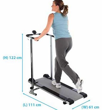 Pro Fitness Non-Motorised Treadmill product image