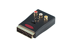 Prosignal Scart Adapter with Breakout