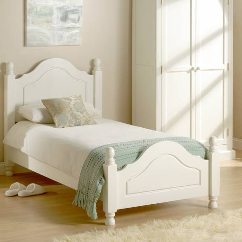 Provence Painted White Bedroom Furniture Provence White Bed Single 3
