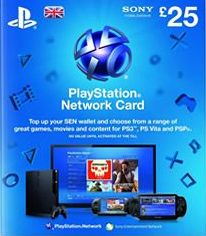 PSN-SCEE, 1559[^]30105-DIGITAL Playstation Network Live Card Ã'£25 (UK Only)