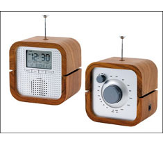 Back in Time Radio Alarm Clock
