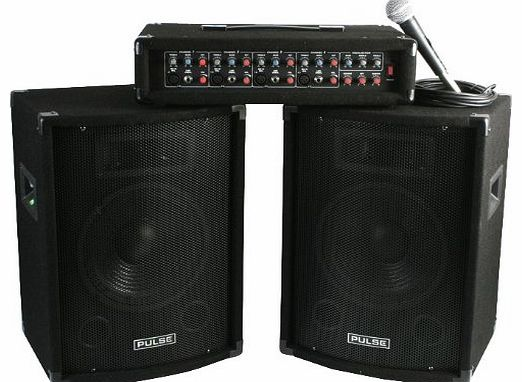 Pulse  - PMH200KIT - PA SYSTEM, PA HEAD   SPEAKERS