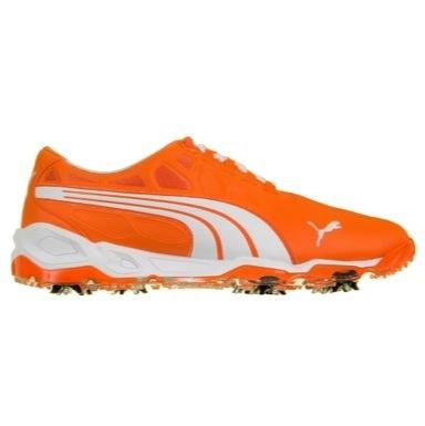 Orange Golf Shoes Puma