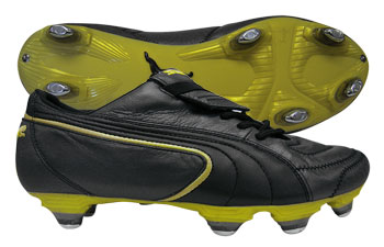 Puma Football Boots Puma King Exec SG Football Boots Black / Black / Gold product image