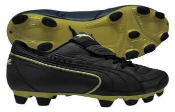 Puma Football Boots Puma King Exec SL IFG Football Boots Black / Gold product image