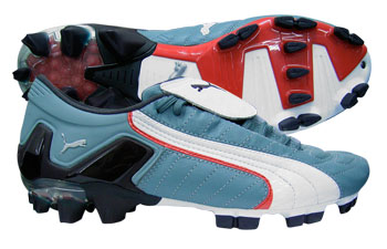 Puma Football Boots Puma V-Konstrukt II FG Football Boots Lead Grey/White product image