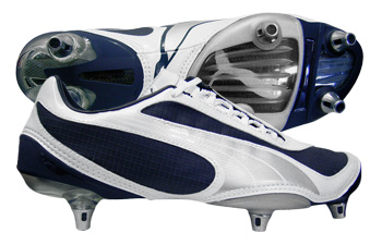 Puma Football Boots Puma V1-08 SG Football Boots Navy / Silver / White product image