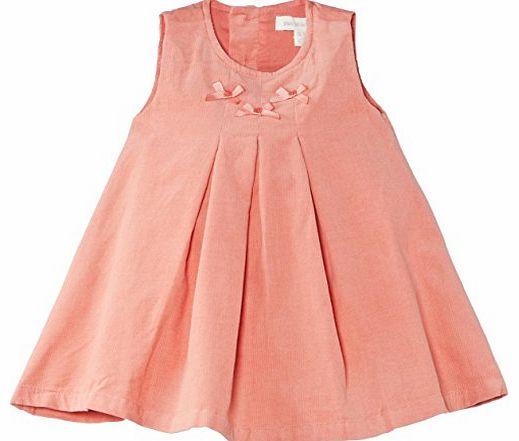 Pumpkin Patch Baby Girls Pincord Short Sleeve Dress Red