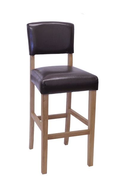 purbeck kitchen chairs : purbeck oak leather bar stool pair from www.comparestoreprices.co.uk size 417 x 624 jpeg 43kB