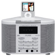 Pure Chronos iDock DAB/FM clock radio speaker product image