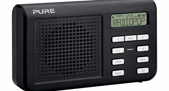 Pure One Mi Series 2 Portable Digital DAB/FM