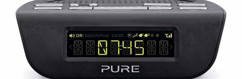 pure siesta mi series 2 dab fm alarm clock radio review compare prices bu. Black Bedroom Furniture Sets. Home Design Ideas