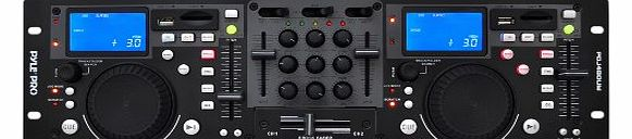 Pyle-Pro PDJ480UM USB and SD Decks With DJ Mixer product image