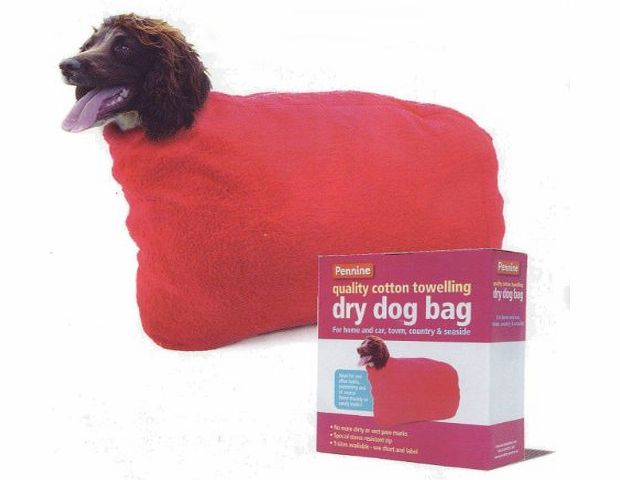 Quality Pet Products Dry Dog Bag Size 3 (14`` Neck ...