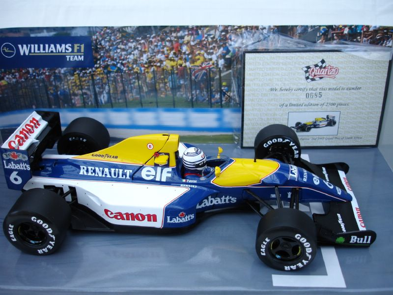 williams renault fw14b. Williams FW14B - R.Patrese